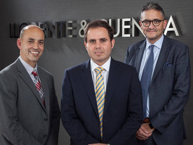 De izda. a dcha., Erich de la Fuente, Emigdio Rojas y Alejandro Romero.