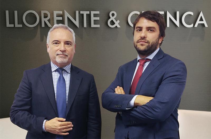 Daniel Valli, Presidente Consejero para el Cono Sur, y Mariano Vila, Director General de LLORENTE & CUENCA en Argentina